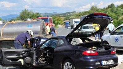 Тежко е състоянието на двете жени, ранени при катастрофата край Мездра