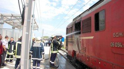 11 пожара в локомотиви на БДЖ на 1 година