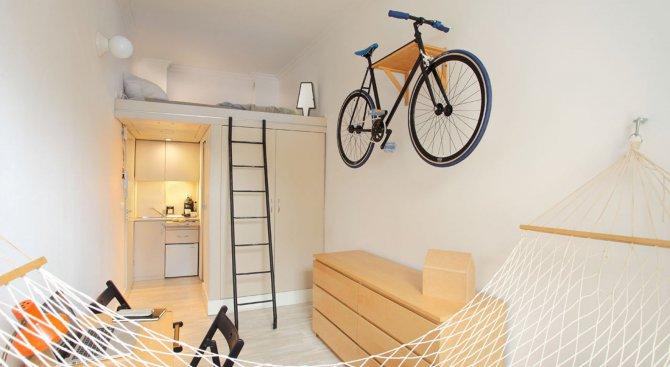 Този апартамент от 13 квадрата е направо невероятен