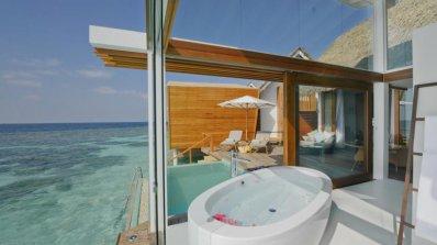 Елегантният хотел Кандолу айлънд на Малдивите