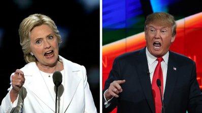 Клинтън води с 8 процента пред Тръмп, според проучване