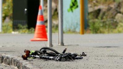 Шофьорка блъсна и уби на място колоездач