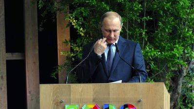 Маската на Путин избяга в Украйна (видео)