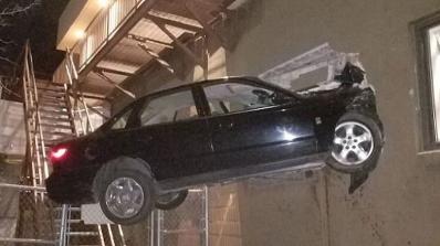 Да поставиш рекорд за висок скок в кола