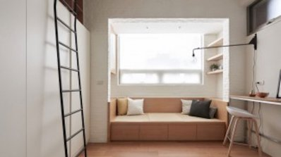 Перфектният интериор на апартамент от 22 кв. м