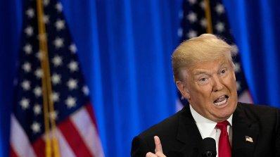 """Тръмп се заканва да унищожи """"Ислямска държава"""", но не казва как"""