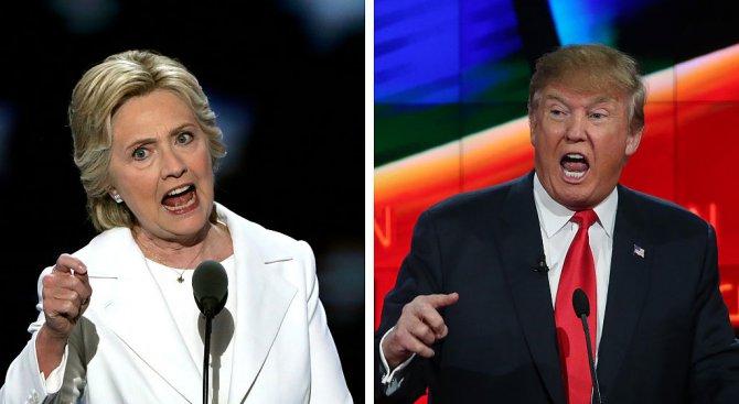 Дебатът между Тръмп и Клинтън е имал рекордните над 80,9 милиона зрители