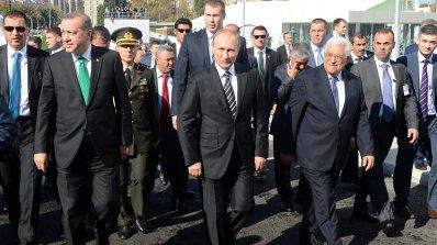 Путин пристига в Турция