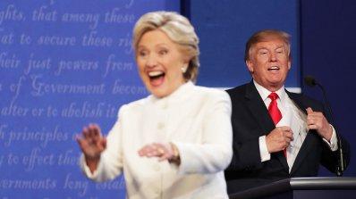 Клинтън и Тръмп с остри реплики на последния дебат