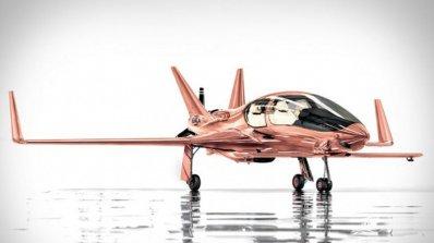 Самолет от розово злато за 1.5 милиона долара