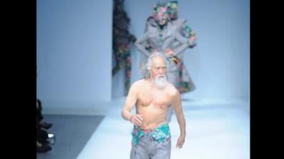 80-годишен китаец стана модна икона (видео)