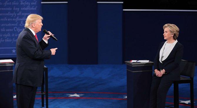 Доналд Тръмп поведе във вота за 45-и президент на САЩ (обновена+снимки)