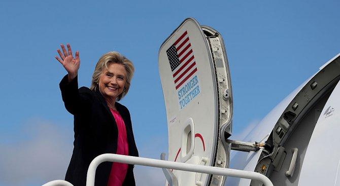 Повечето французи подкрепят Хилари Клинтън