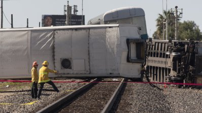 Влак дерайлира в Холандия. Има ранени