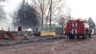 Цистерни от влак експлодираха в Хитрино, има загинали и много ранени (обновена+видео+снимки)