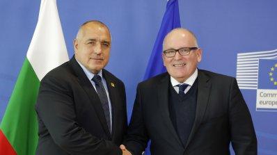 В Европа похвалиха Борисов за усилията за съдебната реформа (снимки)