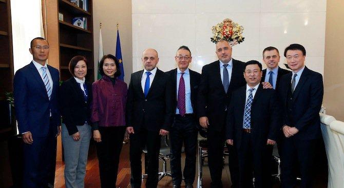 Борисов обсъди важна икономическа инвестиция с представители на китайския бизнес