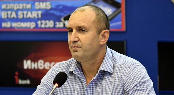 Радев отказа да задържи сегашния парламент