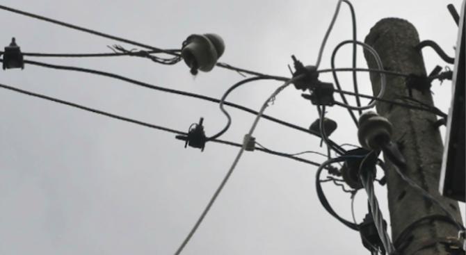 Възстановено е електрозахранването в Хасковско