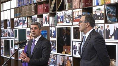 Росен Плевнелиев откри президентска библиотека (снимки)
