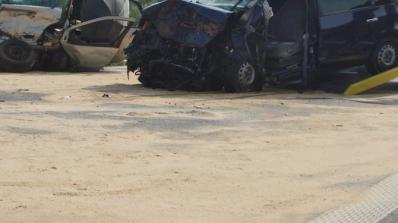 21-годишен пиян шофьор причини верижна катастрофа в Пловдив