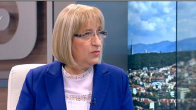 Цецка Цачева: Национален приоритет на ГЕРБ са доходите и образованието (видео)