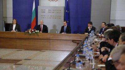 Огнян Герджиков се срещна с Дипломатическия корпус (снимки)