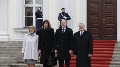 Президентът на Германия към Радев: В европейския модел е бъдещето на България (обновена+снимки)