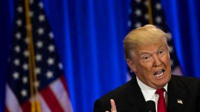 """Тръмп отново се нахвърли срещу в. """"Ню Йорк таймс"""""""