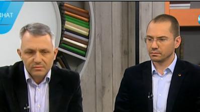 Сблъсък в ефира: Джамбазки и адвокат Хаджигенов се скараха заради гонените бежанци