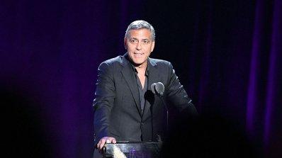 Джордж Клуни призова за защита на свободата в Америка на Тръмп