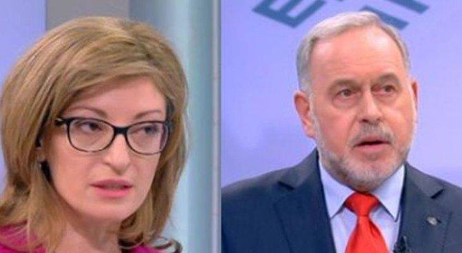 Екатерина Захариева пита: Защо Нинова не каже на гражданите ще прави ли коалиция с ДПС, ако спечели