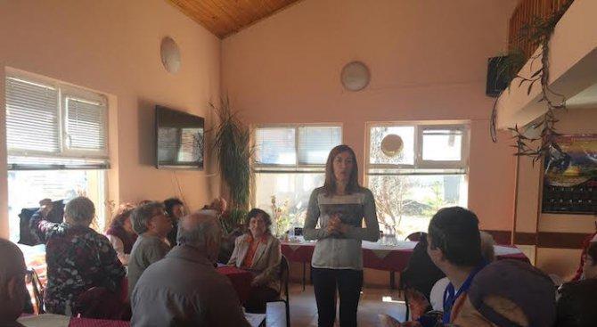 Николина Ангелкова: Ще гарантираме справедливост за всички пенсионери (снимки)