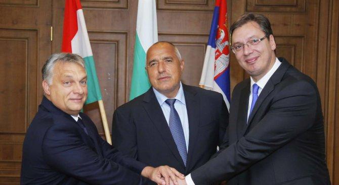 Вучич и Орбан пожелаха на Борисов ново управление (снимки)