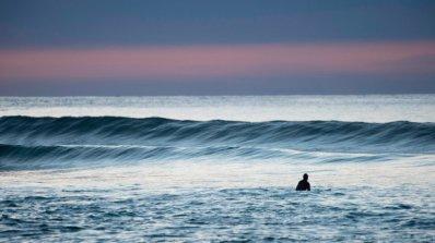 Да сърфираш под Северното сияние