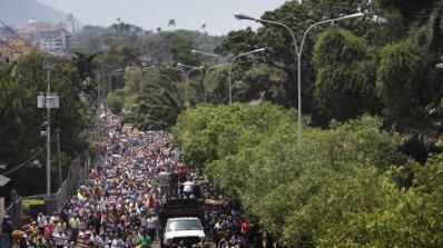 Безредици във Венецуела, 470 са арестувани, над 200 са ранени