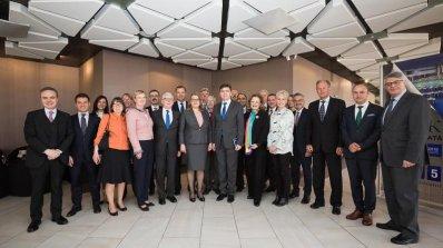 Вицепремиерът Деница Златева се срещна с посланиците от ЕС