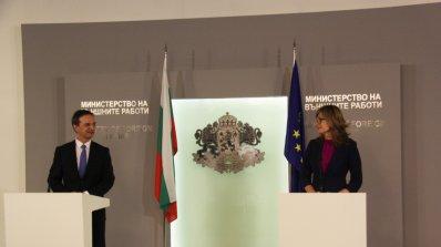 Захариева: Изобщо не е вярно, че гласът ни в Европа не се чува