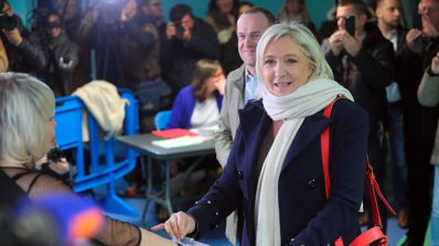 Реакции на европейски популисти на президентските избори във Франция