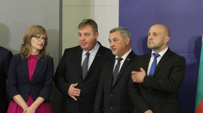 Бойко Борисов разпредели отговорностите на вицепремиерите