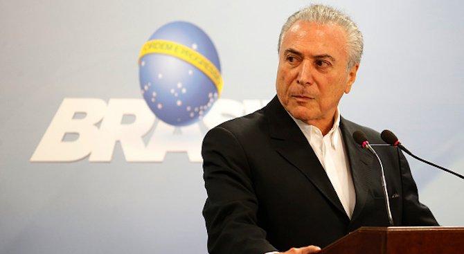 Жена нахлу в резиденцията на бразилския президент, за да му се обясни в любов