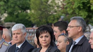 Нинова коментира хитлеристката снимка на Пламен Узунов