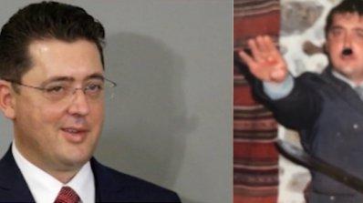 Нов скандал с нацистки поздрав, съветник на Румен Радев се прави на Хитлер (снимки)