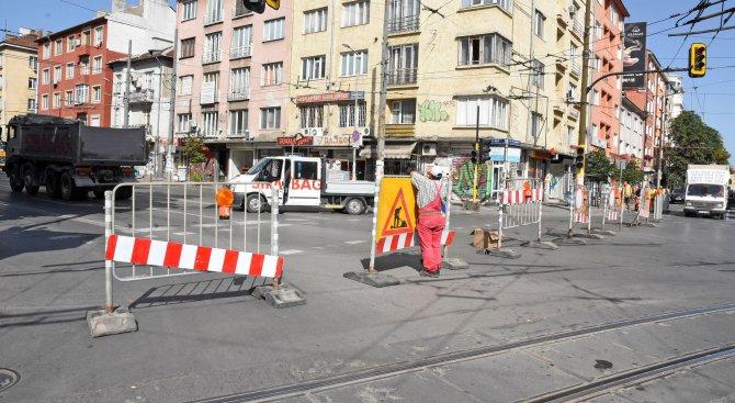 """Започва ремонтът на столичния бул. """"Прага"""" (снимки)"""