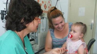 Oперираха 7-месечно бебе с рядък дефект на окото