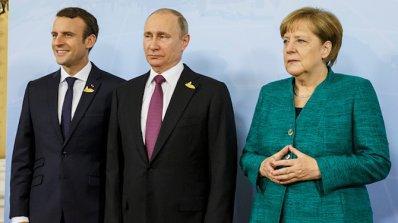 Германия, Франция и Русия обсъдиха конфликта в Украйна