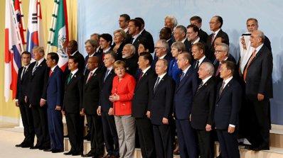Лидерите от Г-20 ще преговарят по въпроси на търговията, климатичните промени и тероризма