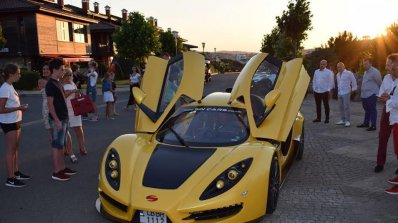 Представиха най-новия модел на българския суперавтомобил Sin R1 550 (снимки)