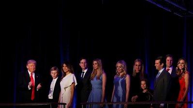 Пропуква ли се династията Тръмп?