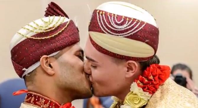 Първият в света брак между хомосексуалисти мюсюлмани вече е факт (видео)